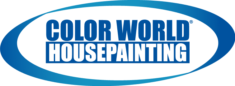 Color world house painting logo